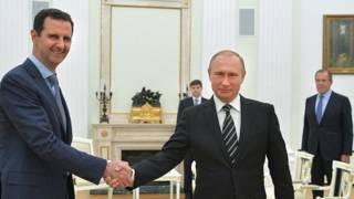 پوتین دا څرګندونې مسکو ته د اسد له سفر وروسته کړې دي