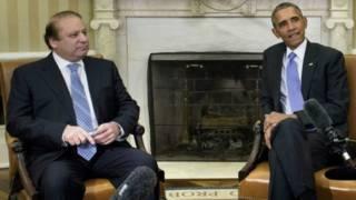 नवाज़ शरीफ़ ने ओबामा से मुलाक़ात की