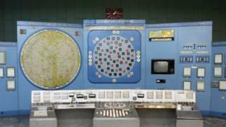 Главный пульт управления реактором в Северске