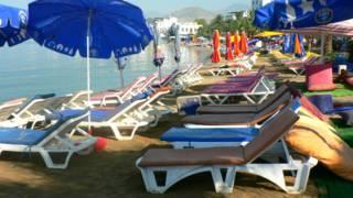Пляж в Туреччині