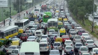 दिल्ली का ट्रैफ़िक