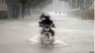 तमिलनाडु में भारी बारिश