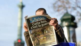 फ्रांस के अख़बार