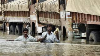 चेन्नई बारिश