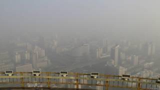 बीजिंग में प्रदूषण