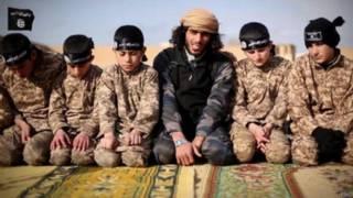 इस्लामिक स्टेट का वीडियो
