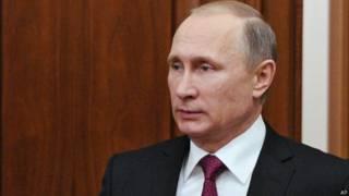 रूसी राष्ट्रपति व्लादिमीर पुतिन