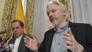 Julian Assange (foto de archivo)