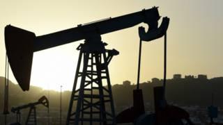 Нефтяной насос в Азербайджане