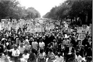 Марш за гражданские права в Вашингтоне 28 августа 1963 г.