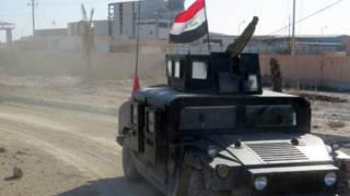 रमादी में इराक़ी सेना