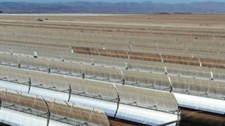 Paneles solares, Marruecos, Sahara
