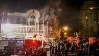 Саудовское посольство в Иране