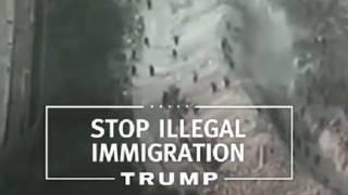 Imagen del anuncio de la campaña de Trump