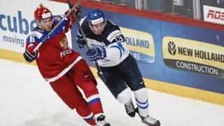 Финал матча Россия-финляндия юношеского ЧМ