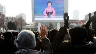 Новости на ТВ КНДР
