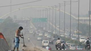 दिल्ली के सड़क की सफ़ाई