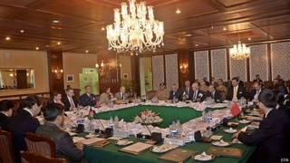 इस्लामाबाद में  बैठक
