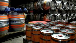 В пивоварне Goddards