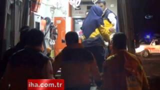 Скорая помощь на месте взрыва
