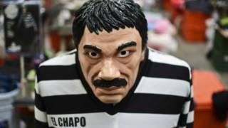 Máscara de El Chapo Guzmán