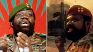 "Savimbi en el videojuego ""Call of Duty"""