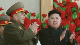 Kim Jong-un y Ri Yong-gil