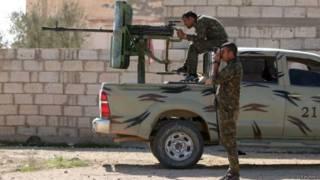 Chiến binh Lực lượng Dân chủ Syria