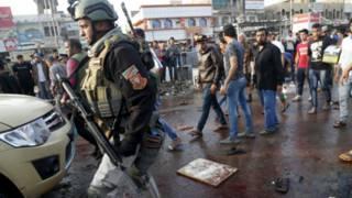 बग़दाद में हमले की फ़ाइल फोटो