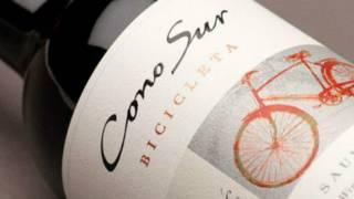 Botella de vino Bicicleta