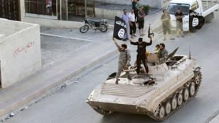 Боевики ИГ в Ракке