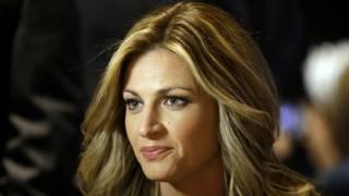 La periodista deportiva y presentadora Erin Andrews