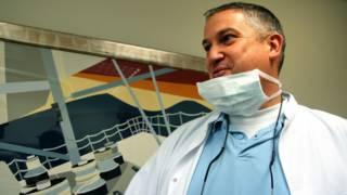 """El """"dentista del terror"""" Jacobus van Nierop"""