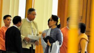 New Myanmar President U Htin Kyaw