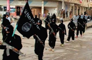 """Боевики """"Исламского государства"""" в Ракке (фото опубликовано в январе 2014 года)"""