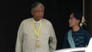 Newely elected President of Burma, U Htin Kyaw