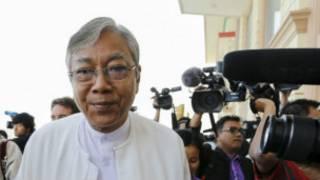 Burma's new president, U Htin Kyaw