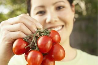 Huerto doméstico: tomates