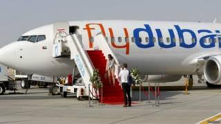 फ़्लाईदुबई का बोइंग विमान