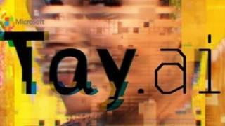 Логотип ИИ Тэй от MIcrosoft
