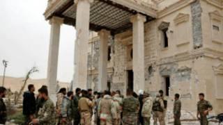 ပါလ်မိုင်ရာကို ဆီးရီးယား တပ်တွေ ပြန်သိမ်းနိုင်ခဲ့