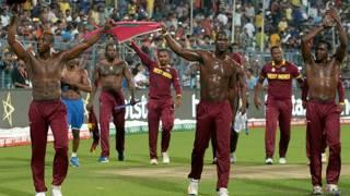 वेस्ट इंडीज की विश्व विजेता टीम.
