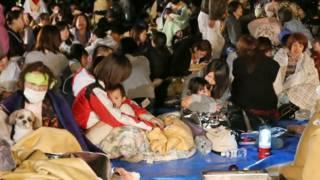 जापानमा भूकम्पपछि