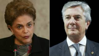 Dilma Rousseff y Collor de Mello
