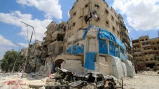 Больница в Алеппо