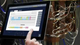 Interfaz para la computadora cuántica de IBM