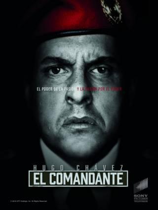 Afiche de la serie El Comandante