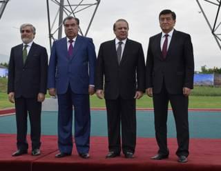 Лидеры Киргизии, Таджикистана, Пакистана и Афганистана
