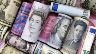 Банкноты, разные валюты