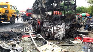 Tai nạn giao thông ở Bình Thuận hôm 22/5/2016